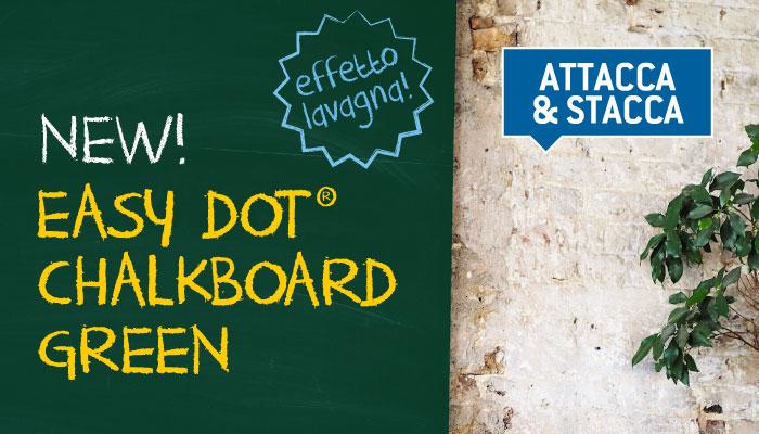 Easy Dot Chalkboard Green: la lavagna riscrivibile si tinge di verde!
