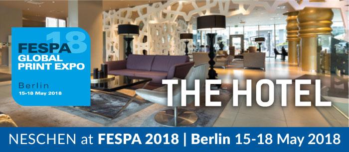 NESCHEN e FILMOLUX Group insieme al FESPA 2018