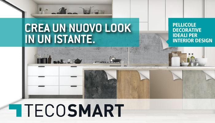 TECOSMART – L'esclusiva pellicola adesiva per la decorazione di mobili e non solo!