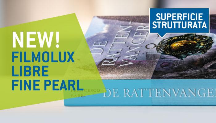 Ricopri i tuoi libri con stile! È arrivata la pellicola Filmolux Libre Fine Pearl
