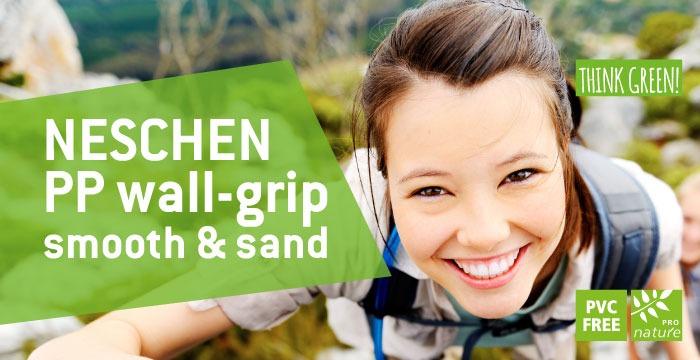 Fai la scelta giusta: scegli l'alternativa GREEN con la pellicola PP wall-grip