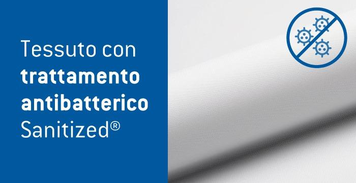 Tessuto con trattamento antibatterico Sanitized®