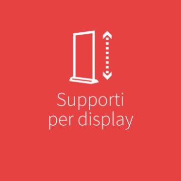 Supporti per display